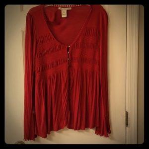 Red American Rag top XL